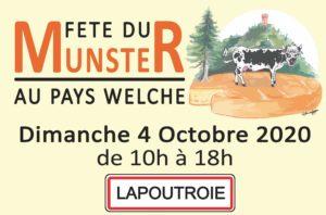 Affiche Fête du Munster 2020